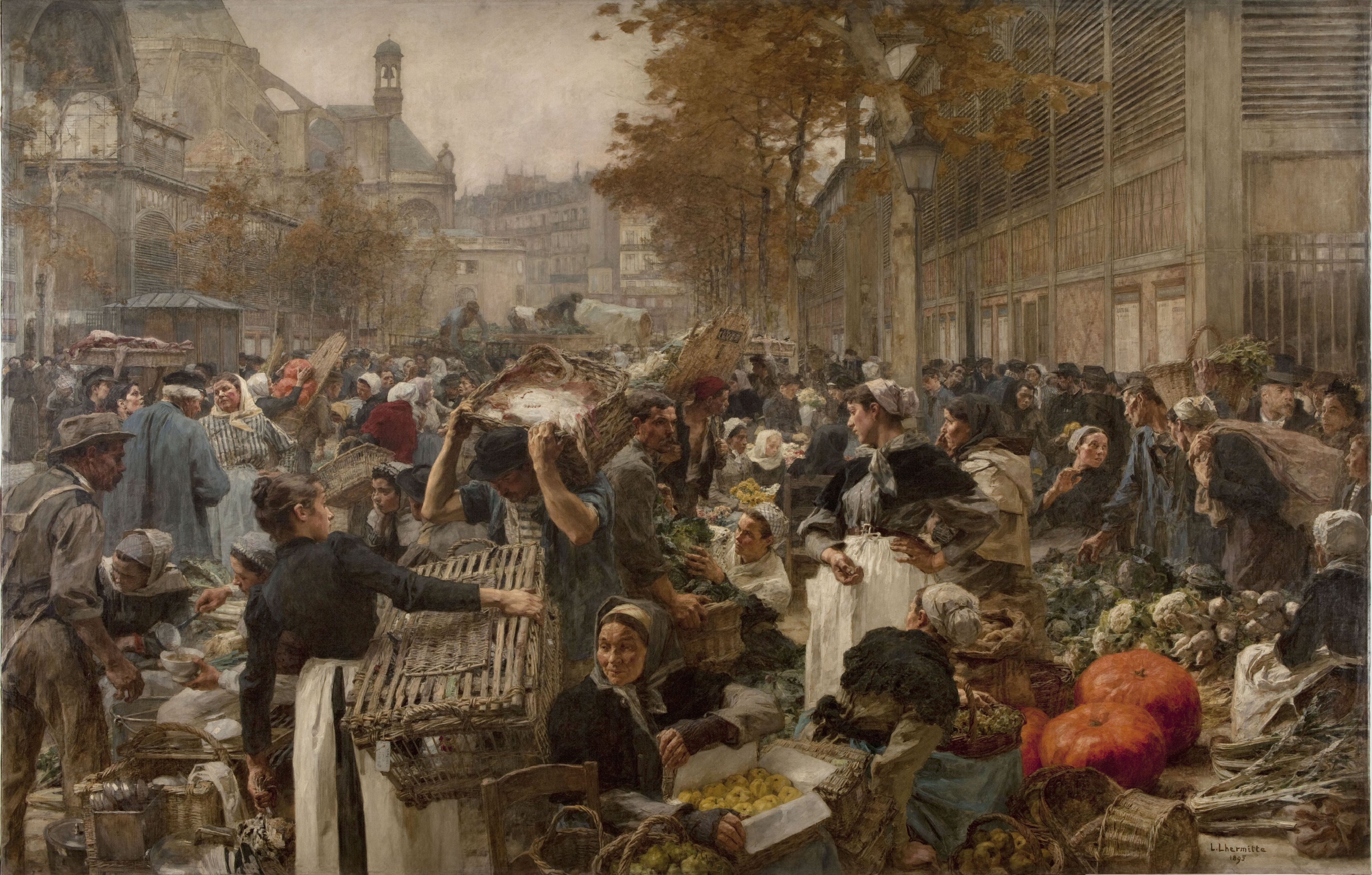 Beautiful Markets In Different Cities