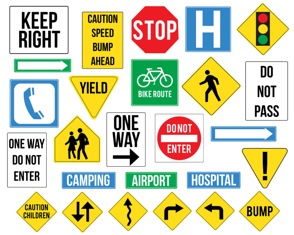 It is a photo of Playful Printable Road Sign