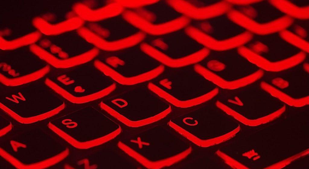 red-keyboard