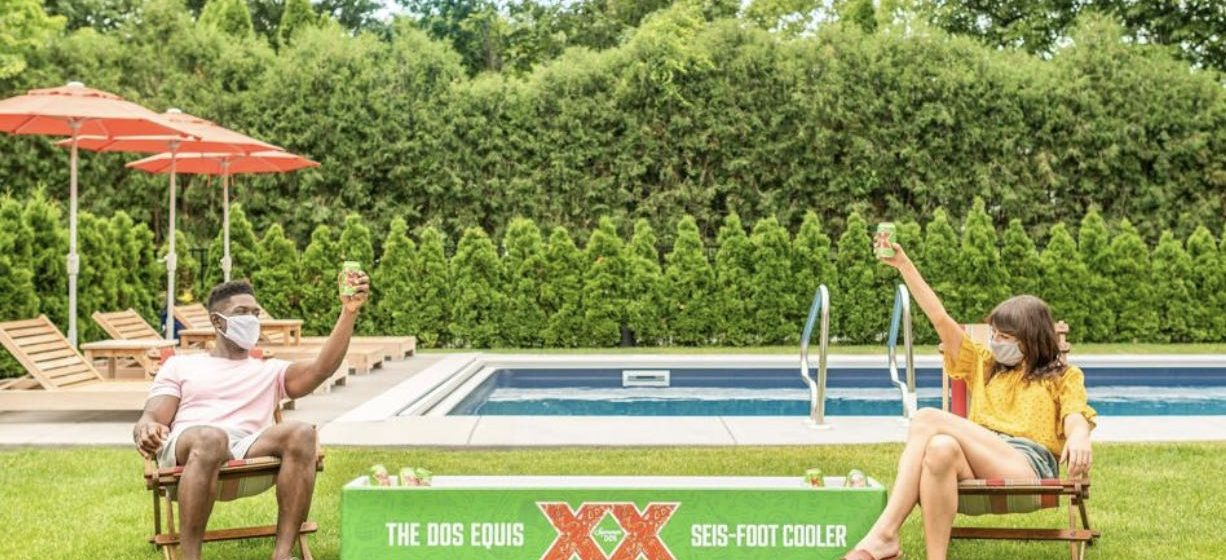 Dos Equis COVID promotion